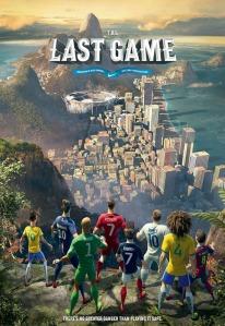"""Poster do curta """"O último jogo"""" (Foto: manualdohomemmoderno.com.br)"""