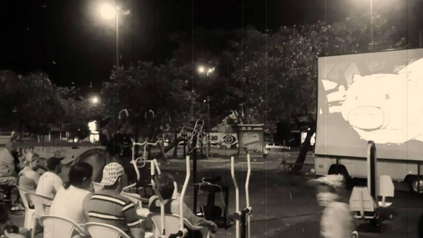 AnimaBru na praça no Jardim Redentor em 2013 (Foto: facebook.com/animabru2013)