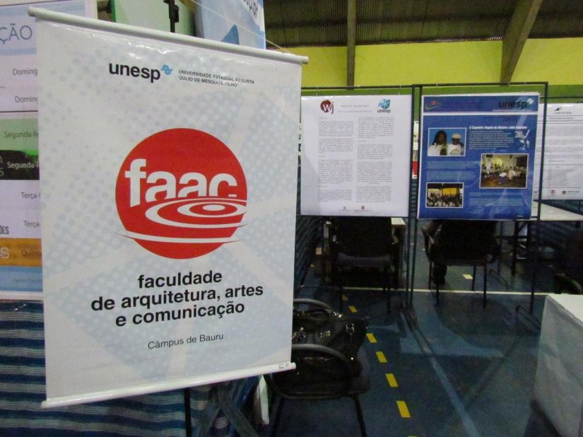 Estande da FAAC na Festa da Ciência de 2013 (Foto: Marina Moia)