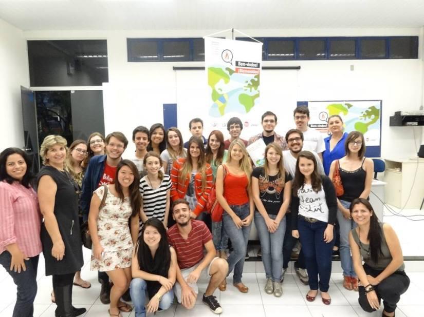 Alunos participantes do curso (Foto: Reprodução)