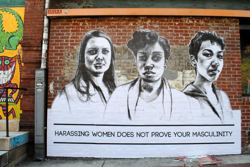 """""""Assediar mulheres não prova sua masculinidade"""""""