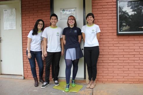 Membros da Design Júnior | Foto: Carolina Souza
