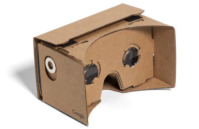 Google Cardboard é opção barata do Google para iOS e Android Foto DivulgaçãoGoogle