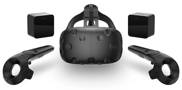 Tecnologia que segue movimentos no HTC Vive permite simulações mais imersivas Foto DivulgaçãoHTC